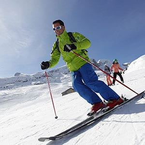 Agence Photo : Illustration Tourisme Skieur