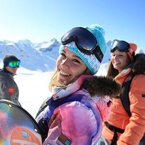 Agence Photo : Tourisme Ski Portrait - Photos avec Figurants