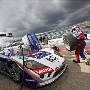 Photo d'une Course de voiture à Silverstone