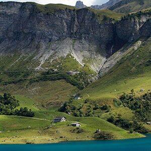 Image de Paysage de Lac en montagne