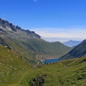 Photo de Paysage sur les hauteurs de Vaujany