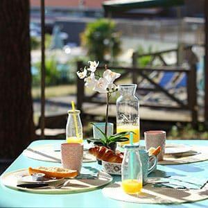 Photo d'un Petit déjeuner chez Campéole à Biscarosse