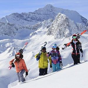 Agence Photo : Ski à Tignes - Photos avec Figurants