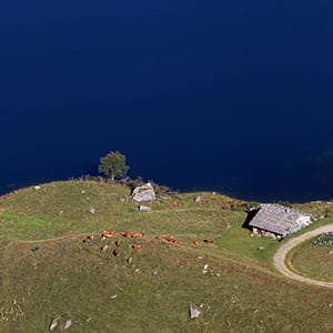 Agence Photo : Vue Drone Lac