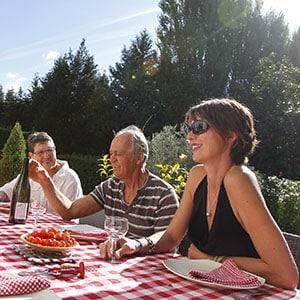 Agence Photo : Illustration Restaurant Couple