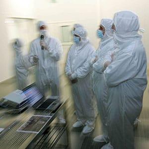 Photo corporate au Centre de recherche du CEA