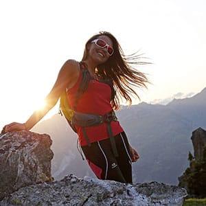 Agence Photo : Tourisme Randonnée Portrait Femme