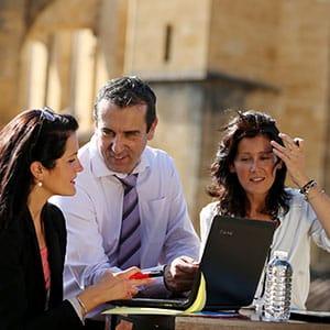 Photo de réunion incentive à Sarlat
