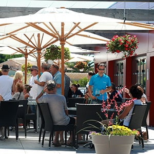 Agence Photo : Terrasse Restaurant Camping