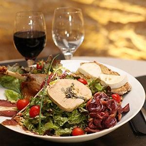 Agence Photo : Illustration Assiette Gastronomie