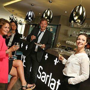 Photo d'apéritif pour du tourisme d'affaires à Sarlat