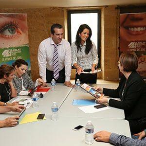 Photo de réunion pour du tourisme d'affaires à Sarlat