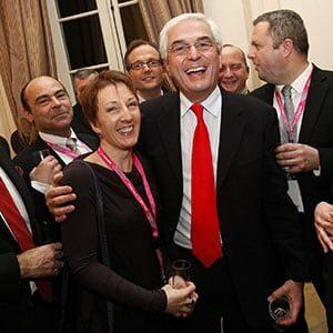 Portrait d'un dirigeant d'entreprise lors d'une réception à Grenoble