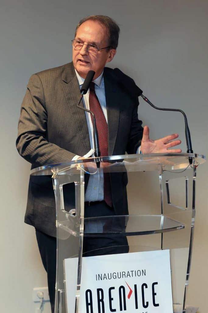 Discours du président de l'UCPA à l'inauguration de l'Aren'Ice