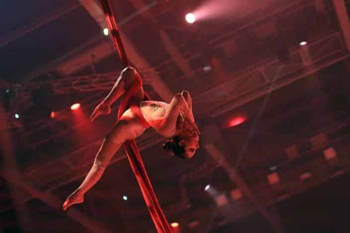 Spectacle d'acrobate