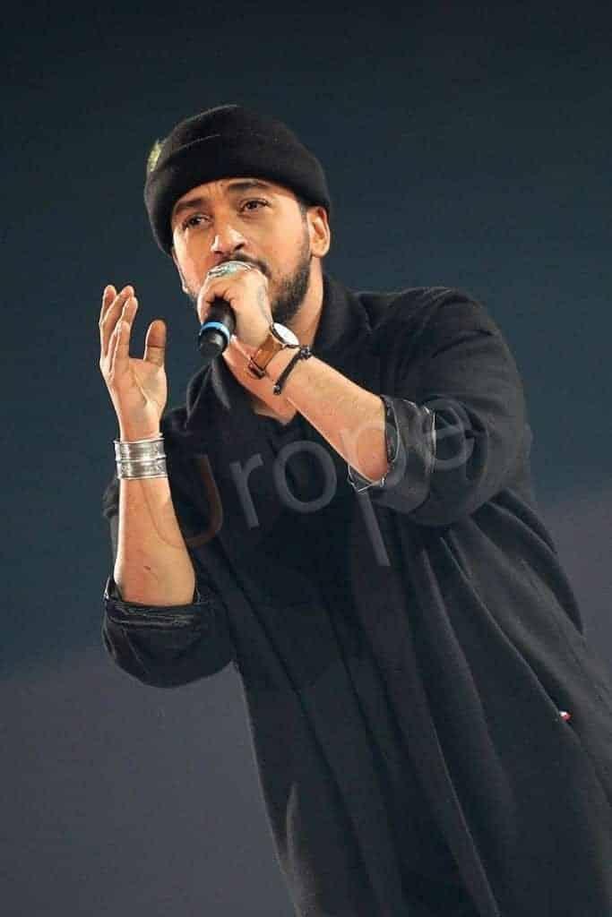 Portrait du chanteur Slimane