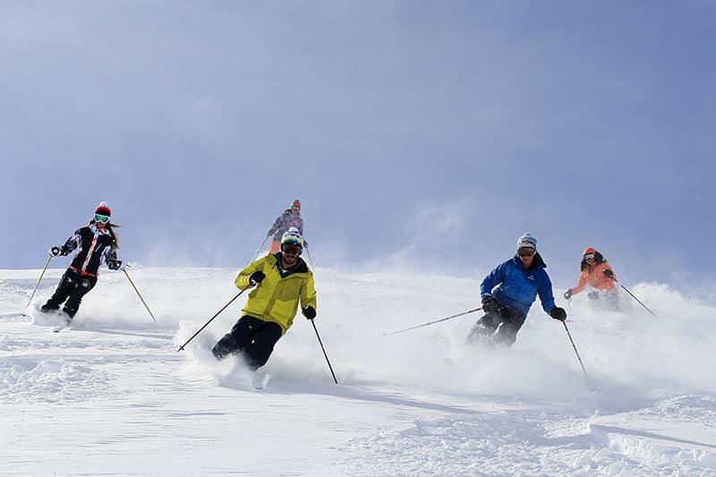 Agence Photo Vidéo Photos Avec Figurants Ski