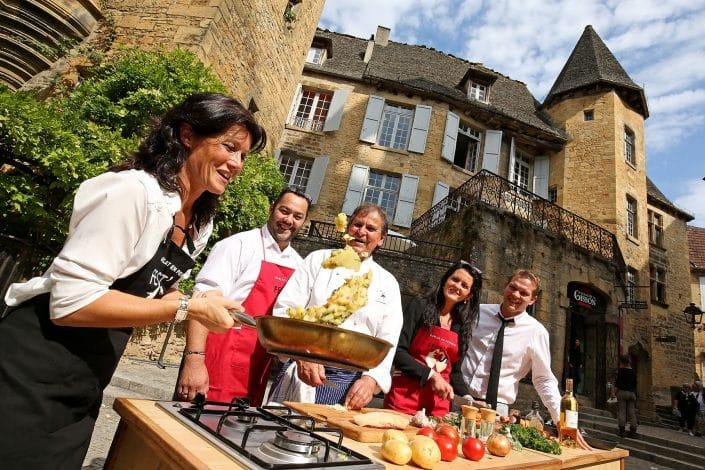 Photographe Incentive - Masterchef Sarlat Pommes sautées