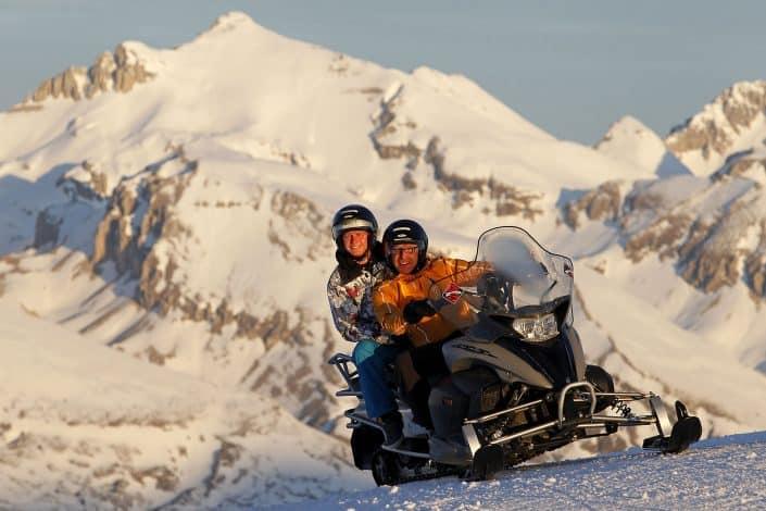 Photographe Incentive - Course en motoneige
