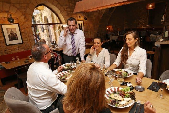 Photographe Incentive - Groupe au restaurant