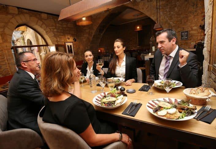 Photographe Incentive - Repas restaurant gastro