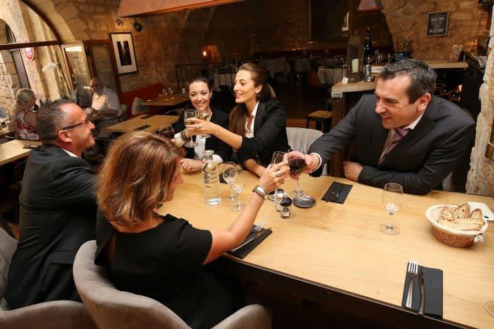 Photographe Incentive - apéritif restaurant